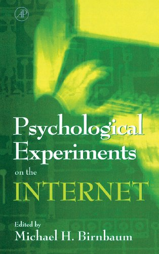 9780120999804: Psychological Experiments on the Internet