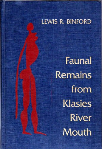 9780121000707: Faunal Remains from Klasies River Mouth (Studies in Archaeology)