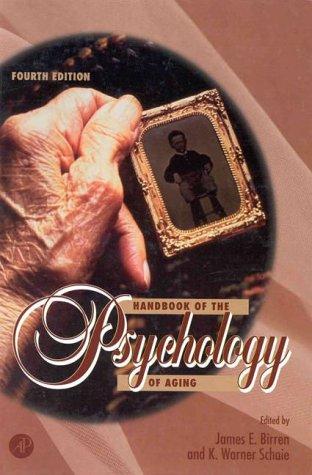 9780121012601: Handbook of Psychology of Aging, Fourth Edition (Handbooks of Aging)