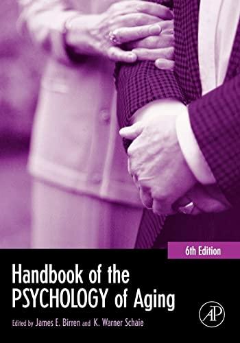 9780121012656: Handbook of the Psychology of Aging (Handbooks of Aging)