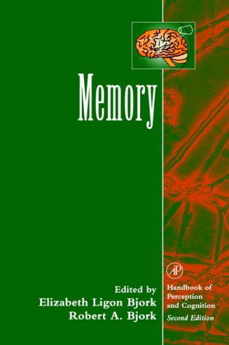 9780121025717: Memory (Handbook of Perception and Cognition)