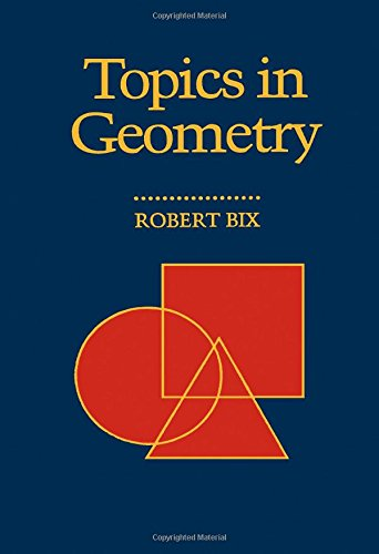 9780121027407: Topics in Geometry