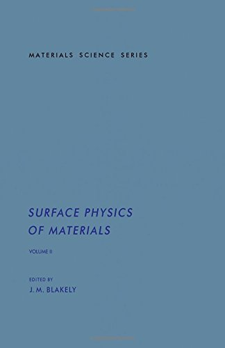 9780121038021: Surface Physics of Materials, Vol. 2