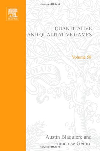 9780121043605: Quantitative and Qualitative Games: 58 (Mathematics in Science and Engineering)