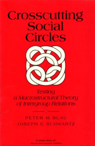 9780121052522: Crosscutting Social Circles: Testing a Macrostructural Theory of Intergroup Relations