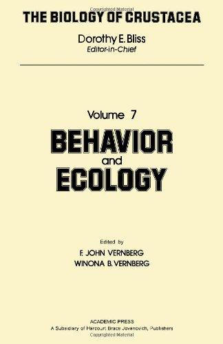 9780121064075: Biology of Crustacea: Behavior and Ecology
