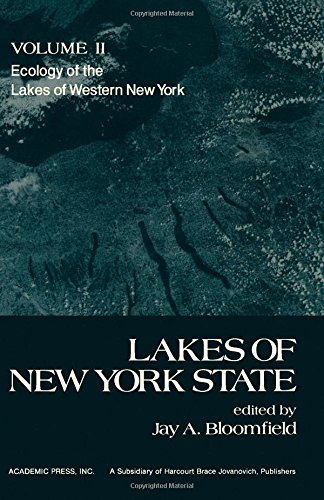 9780121073022: Lakes of New York State, vol. 2 :Ecology of the Lakes of Western New York