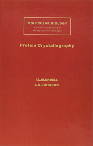 9780121083502: Protein Crystallography, (Molecular biology series)