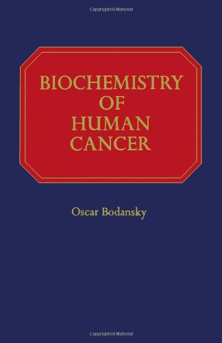 9780121098506: Biochemistry of Human Cancer