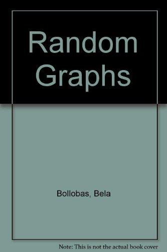 9780121117559: Random Graphs