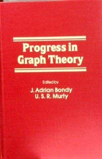 9780121143206: Progress in Graph Theory