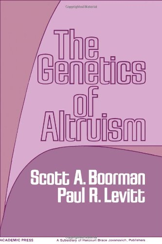 9780121156503: The Genetics of Altruism