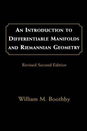 9780121160517: An Introduction to Differentiable Manifolds and Riemannian Geometry, Revised (Pure and Applied Mathematics)