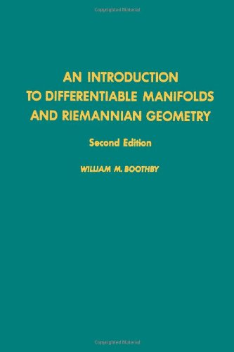 9780121160524: An introduction to differentiable manifolds and Riemannian geometry (2nd Ed), Volume 120, Second Edition (Pure and Applied Mathematics)