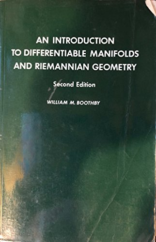 9780121160531: Introduction to Differentiable Manifolds and Riemannian Geometry (Pure & Applied Mathematics)