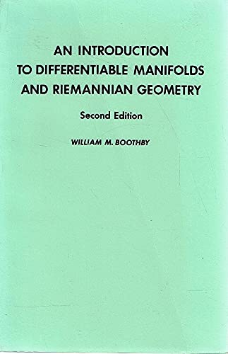 9780121160531: An Introduction to Differentiable Manifolds and Riemannian Geometry (Pure and Applied Mathematics, Volume 120)