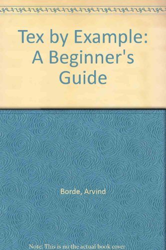 9780121176518: Tex by Example: A Beginner's Guide