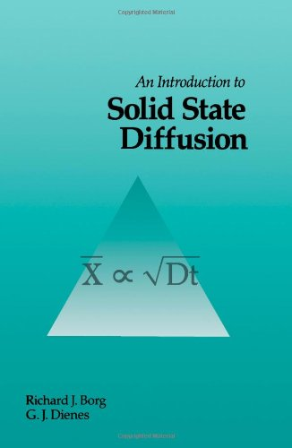 9780121184254: An Introduction to Solid State Diffusion