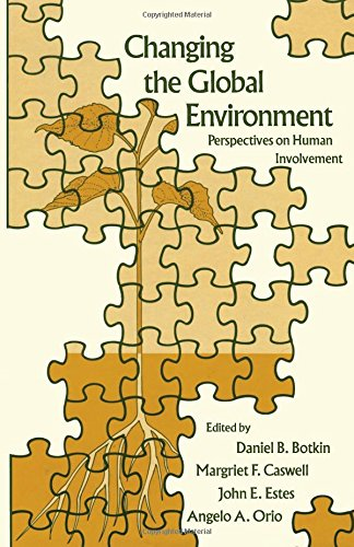 9780121187309: Changing the Global Environment: Perspectives on Human Involvement