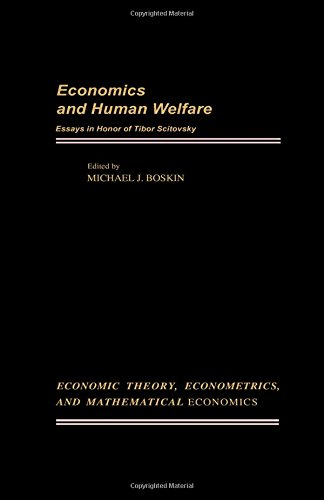 economics and human welfare essays in honour of  9780121188504 economics and human welfare essays in honour of tibor scitovsky economic theory