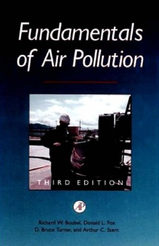 9780121189303: Fundamentals of Air Pollution