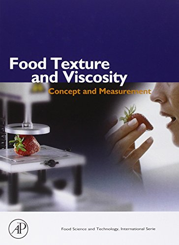 9780121190620: Food Texture and Viscosity: Concept and Measurement (Food Science and Technology)