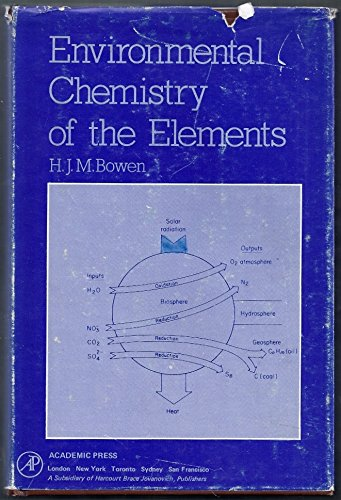 9780121204501: Environmental Chemistry of the Elements