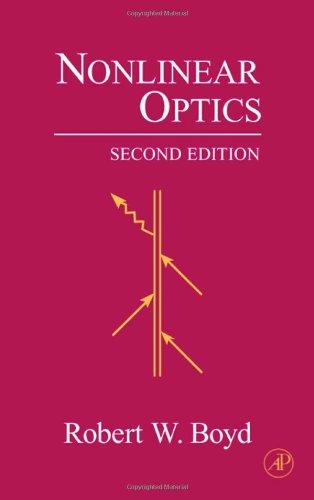 9780121216825: Nonlinear Optics, Second Edition