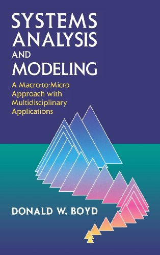 9780121218515: Systems Analysis and Modeling: A Macro-to-Micro Approach with Multidisciplinary Applications