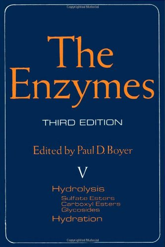 9780121227050: The Enzymes. Volume 5: Hydrolysis. Sulfate Esters, Carboxyl Esters, Glycosides