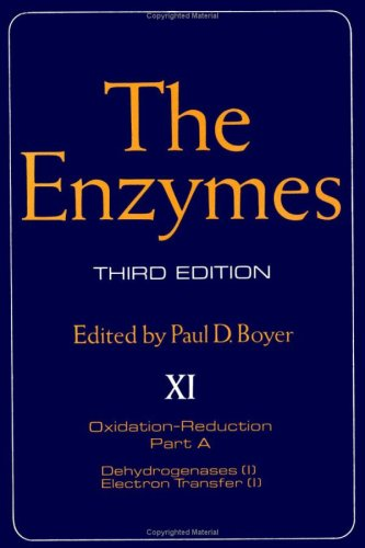 The Enzymes. Volume XI. Third Edition. Part: Paul D. Boyer