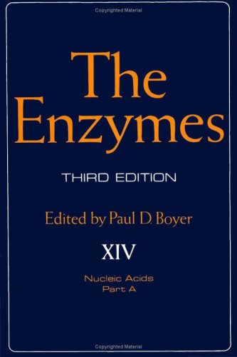 9780121227142: The Enzymes. Volume 14: Nucleic Acids, Part A. Third Edition