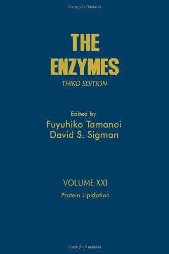 9780121227227: Protein Lipidation, Volume 21, Third Edition (The Enzymes)