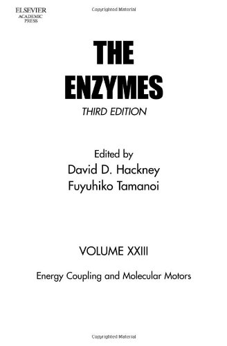 9780121227241: Energy Coupling and Molecular Motors, Volume 23, Third Edition (Enzymes (Academic Press))