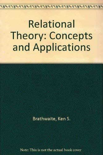 9780121258818: Relational Theory: Concepts and Application