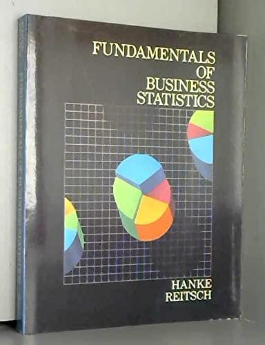 9780121280505: Fundamentals of Business Statistics