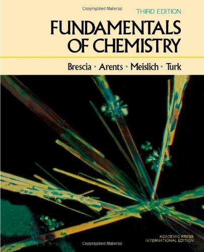 9780121323325: Fundamentals of Chemistry