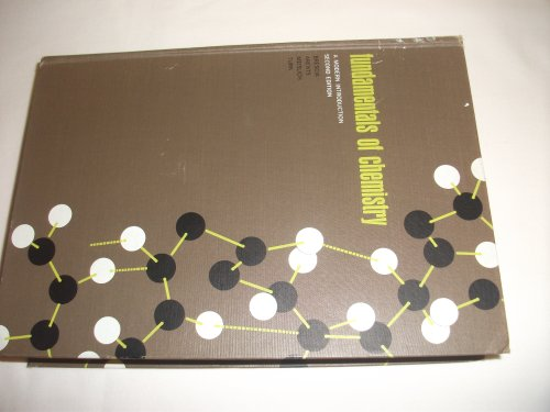 9780121323707: Fundamentals of Chemistry: a Modern Introduction 2nd Edition;