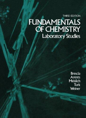 9780121323875: Fundamentals of Chemistry: Laboratory Studies, Third Edition