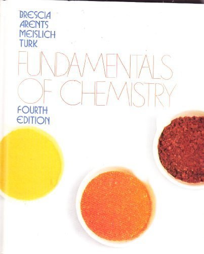 9780121323929: Fundamentals of Chemistry.