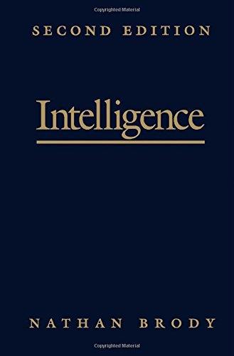 9780121342517: Intelligence, Second Edition