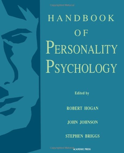 9780121346454: Handbook of Personality Psychology
