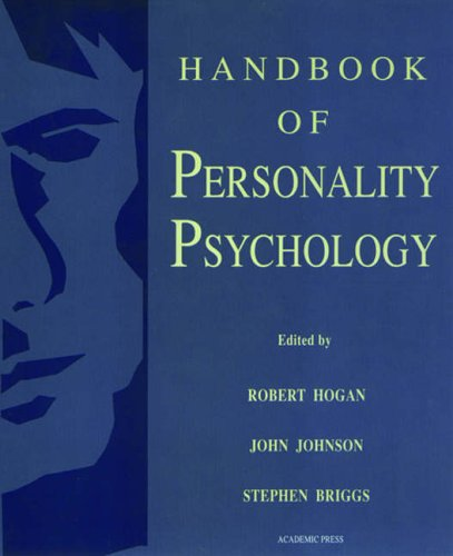 9780121346461: Handbook of Personality Psychology