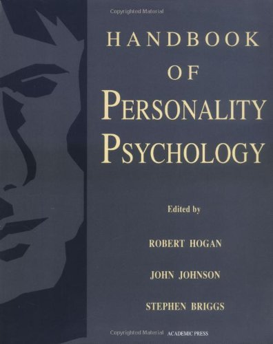 9780121346461: Handbook of Personality Psychology