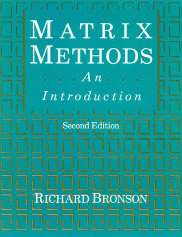 9780121352516: Matrix Methods, Second Edition: An Introduction