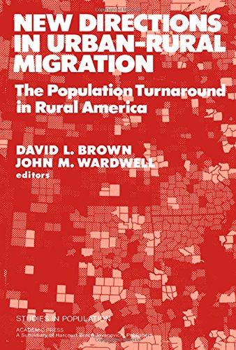 9780121363802: New Directions in Urban/Rural Migration: Population Turnaround in Rural America (Studies in population series)