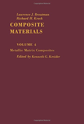 9780121365042: Metallic Matrix Composites, Vol. 4 (Composite materials)