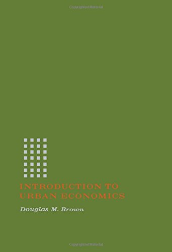 9780121366506: Introduction to Urban Economics