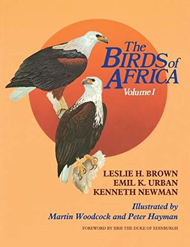 9780121373016: The Birds of Africa, Volume I