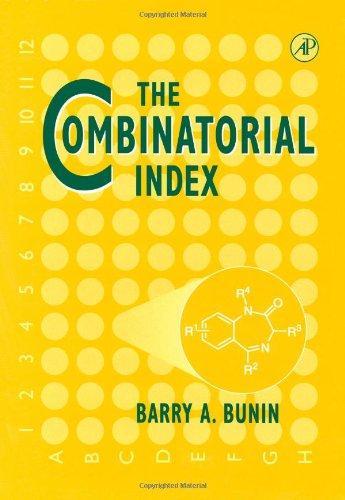 9780121413408: The Combinatorial Index